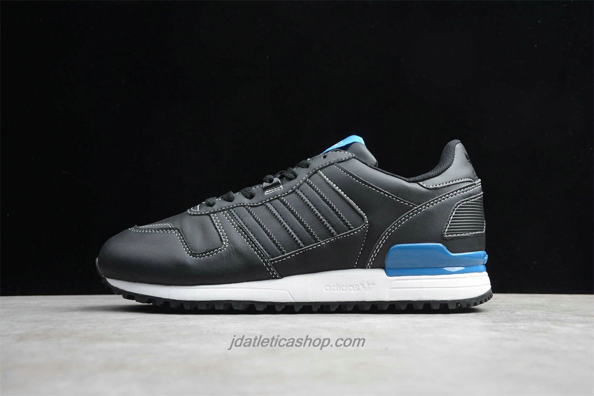 Scarpe Adidas Originals ZX 700 Leather G68638 Nero / Blu